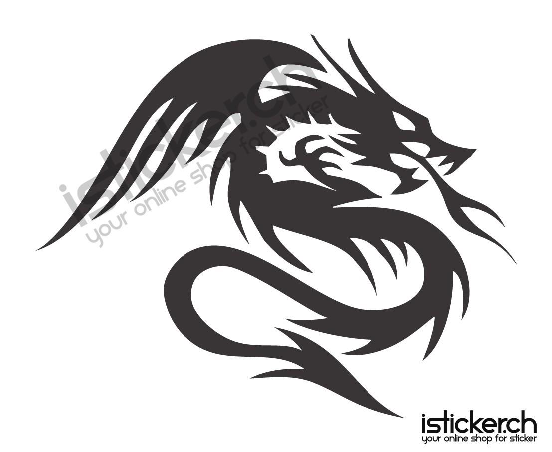 Drachen Dragon 1 Isticker Ch
